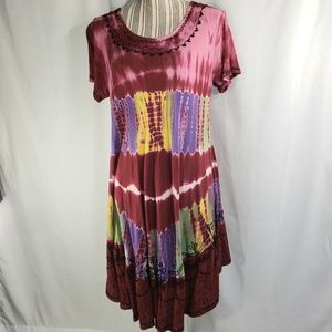 Advance BOHO Style Dress Free Size